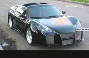 Gumpert Apollo из Toyota MR2 (10 фото)