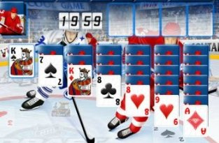 Hockey Solitaire (флеш игра)