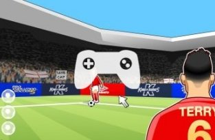 Be John Terry King Of Defenders (флеш игра)