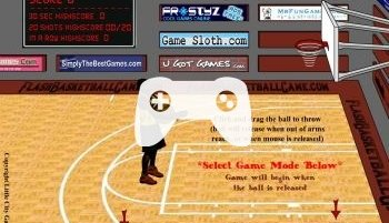 Flash Basketball (флеш игра)