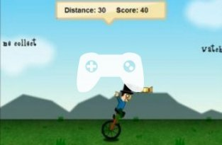 Unicycle Madness (флеш игра)
