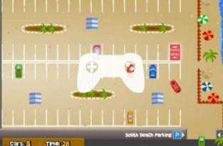 South Beach Parking (флеш игра)