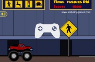 Monster Truck Curfew (флеш игра)
