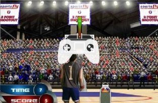 3 Point Shootout (флеш игра)