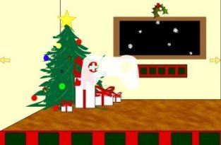 My First Christmas Escape (флеш игра)