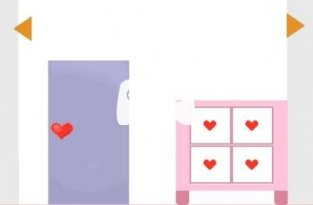 Room With Hearts (флеш игра)