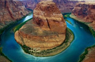 Horseshoe Bend – изгиб реки в Колорадо (9 фото)