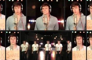 Mike Tompkins - Rolling in the Deep a Cappella Cover