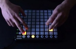 Дабстеп на Novation Launchpad