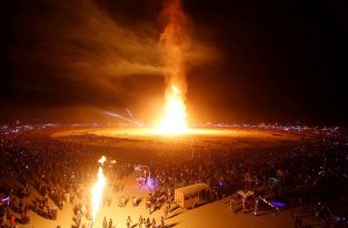 Сгореть на Burning Man. Рассказ очевидца трагедии (11 фото + 1 видео)
