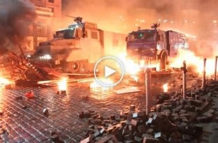 Ukraine protests. Fighting in Kiev (18 февраля 2014)