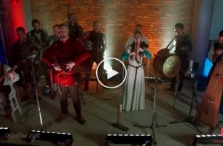 Средневековый кавер на Pink Floyd - Another Brick in the Wall